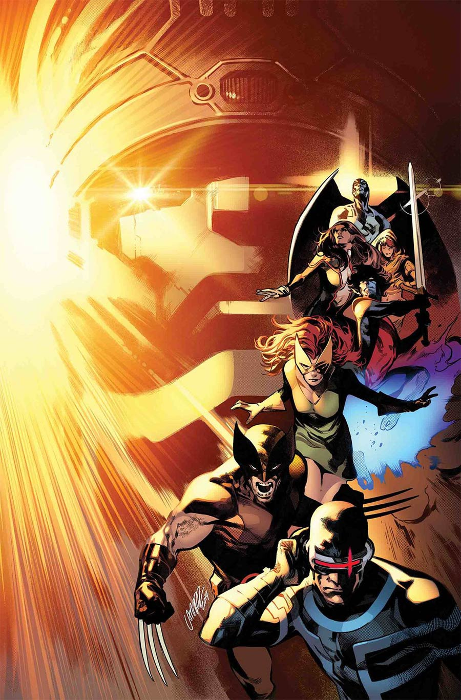 House Of X #3 Cover A Regular Pepe Larraz Cover