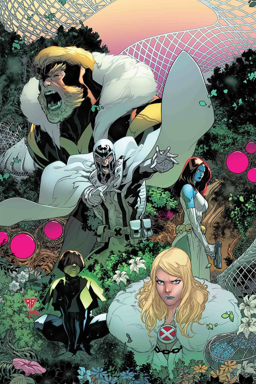 Powers Of X #2 Cover A Regular RB Silva Cover