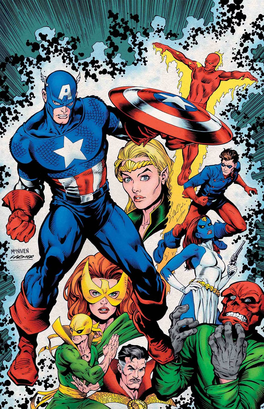 History Of The Marvel Universe #2 Cover A Regular Steve McNiven Cover