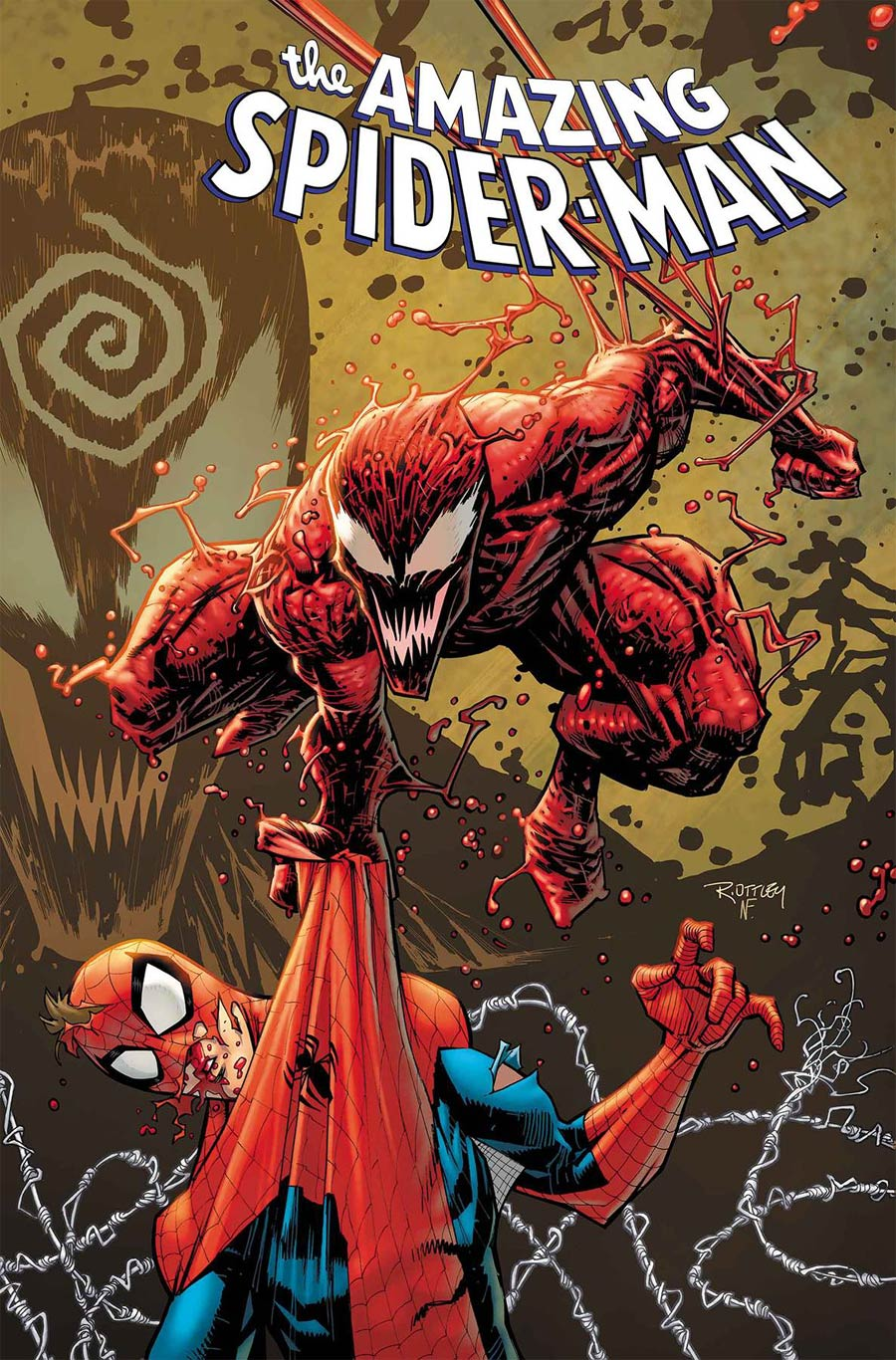 Amazing Spider-Man Vol 5 #30 Cover A Regular Ryan Ottley Cover (Absolute Carnage Tie-In)