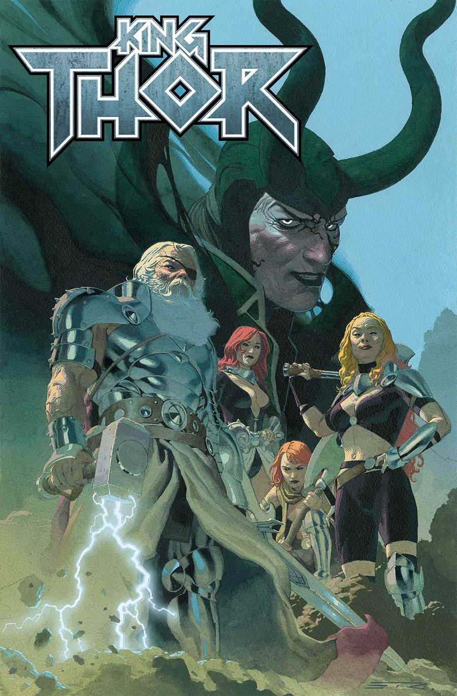 King Thor #1 Cover A Regular Esad Ribic Cover