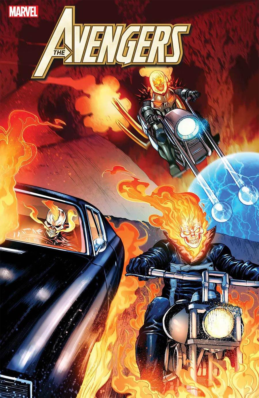 Avengers Vol 7 #25 Cover A Regular Stefano Caselli Cover