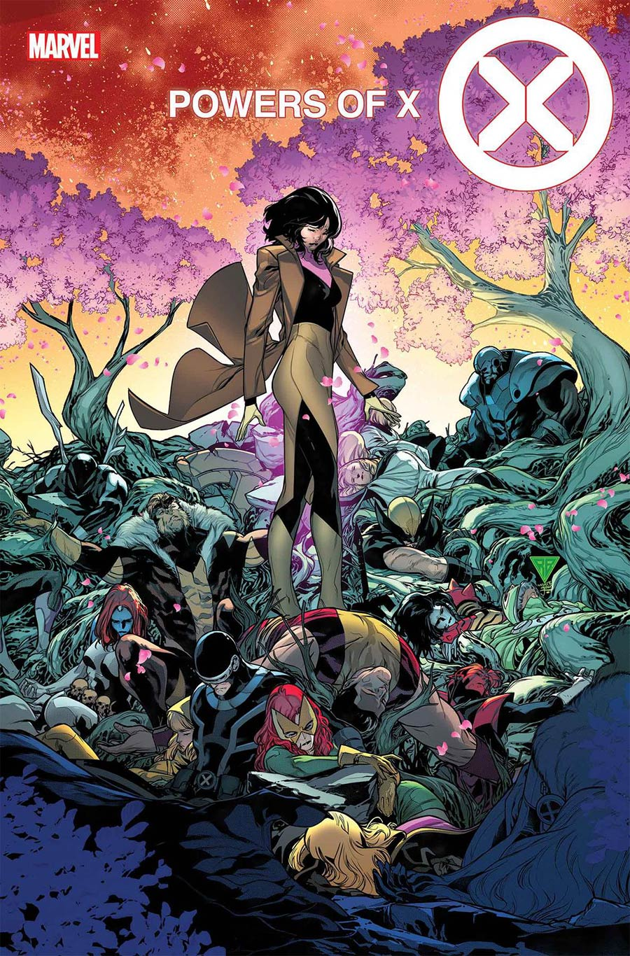 Powers Of X #6 Cover A Regular RB Silva Cover
