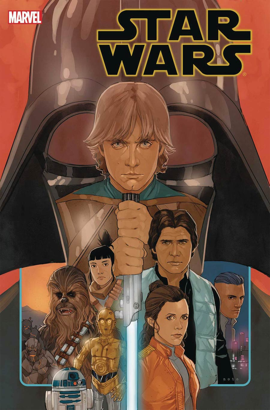 Star Wars Vol 4 #75 Cover A Regular Phil Noto Cover