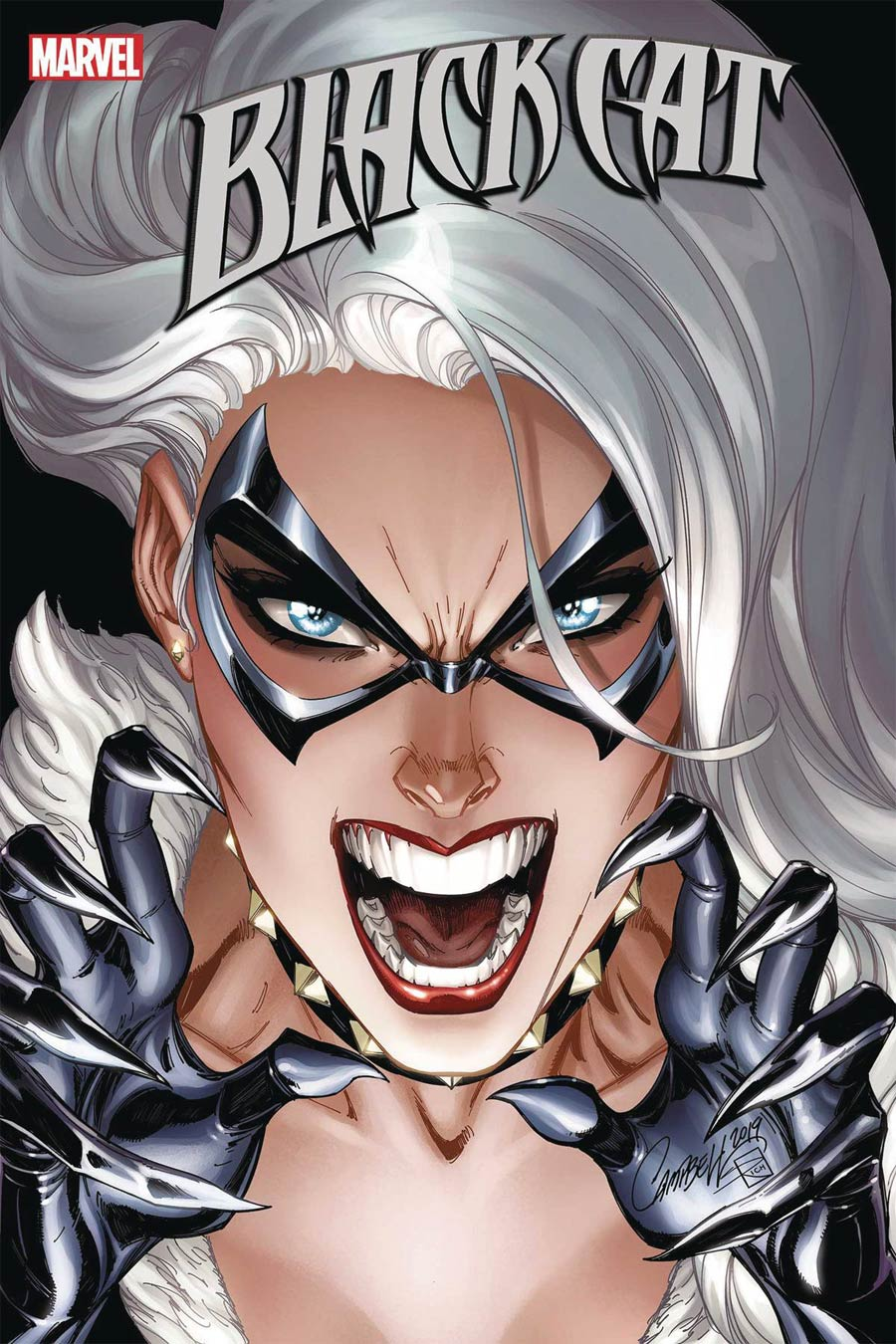 Black Cat #6 Cover A Regular J Scott Campbell Cover