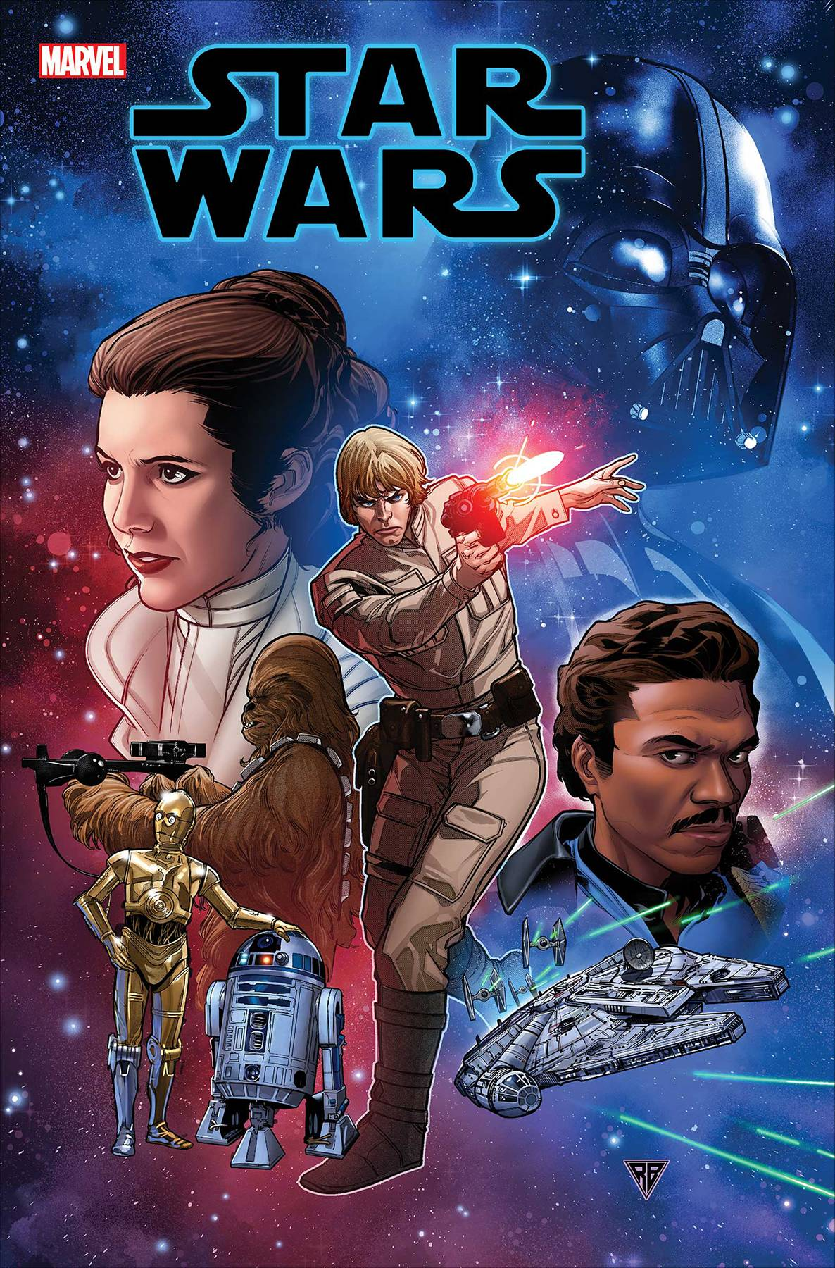 Star Wars Vol 5 #1 Cover A Regular RB Silva Cover