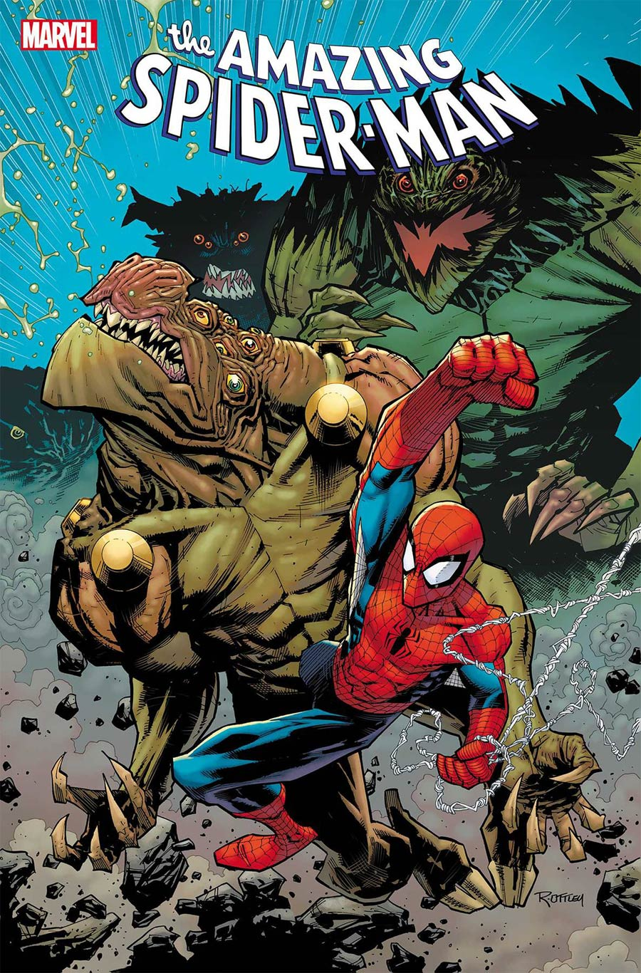 Amazing Spider-Man Vol 5 #37 Cover A Regular Ryan Ottley Cover