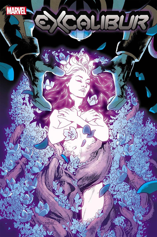 Excalibur Vol 4 #5 Cover A Regular Mahmud Asrar Cover (Dawn Of X Tie-In)