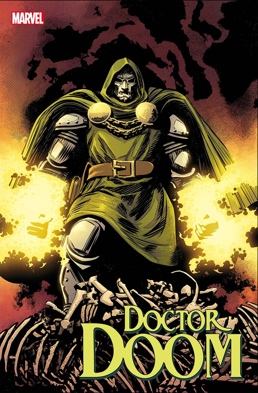 Doctor Doom #4 Cover A Regular Tomm Coker Cover
