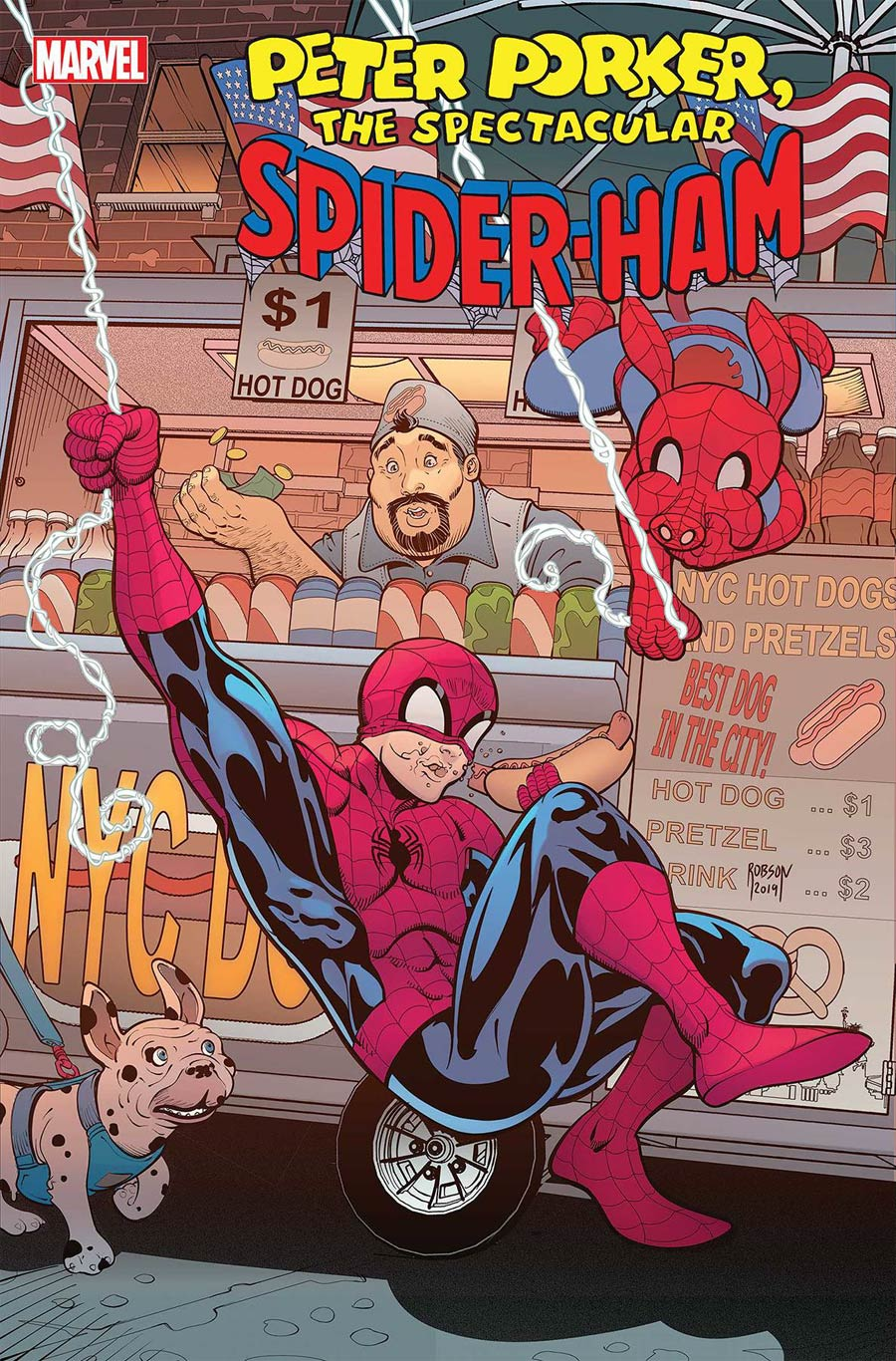 Spider-Ham #2 Cover A Regular Will Robson Cover