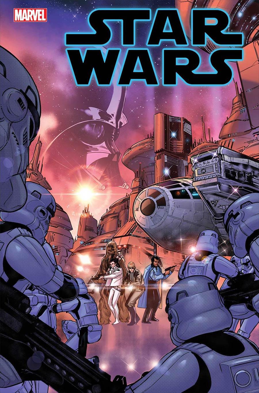 Star Wars Vol 5 #3 Cover A Regular RB Silva Cover