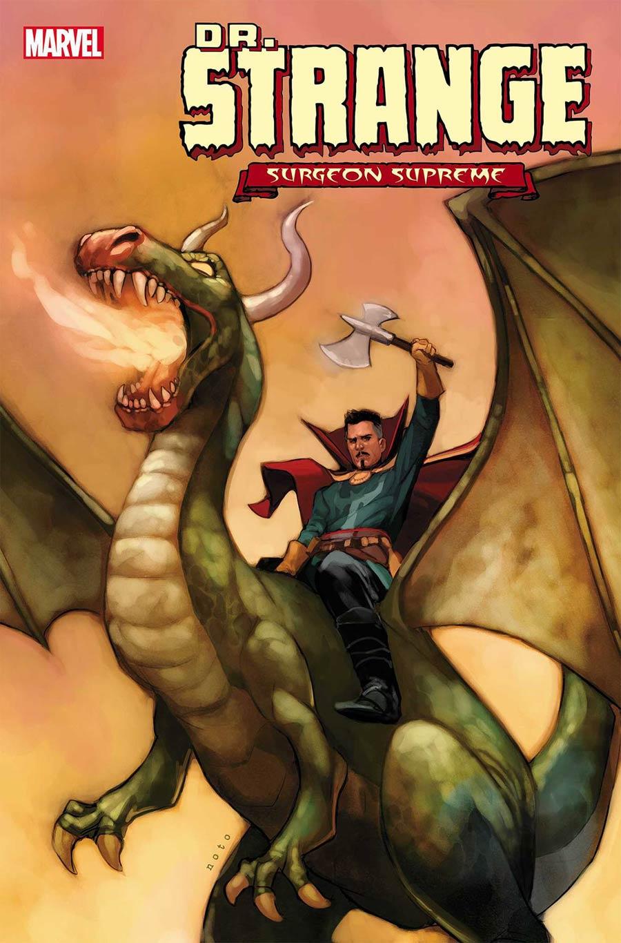 Doctor Strange Surgeon Supreme #3 Cover A Regular Phil Noto Cover