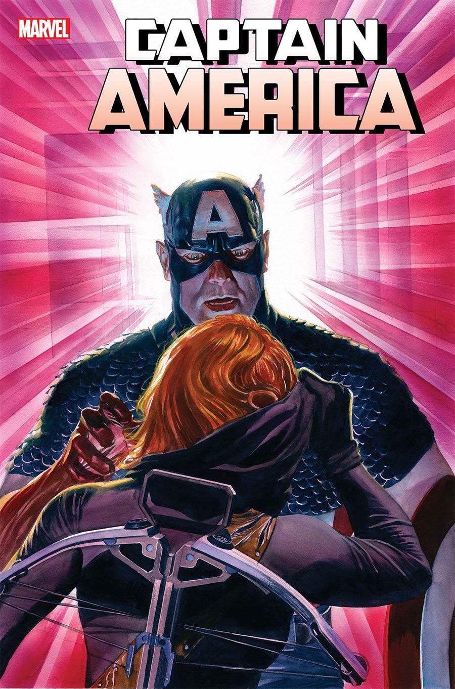 Captain America Vol 9 #19 Cover A Regular Alex Ross Cover