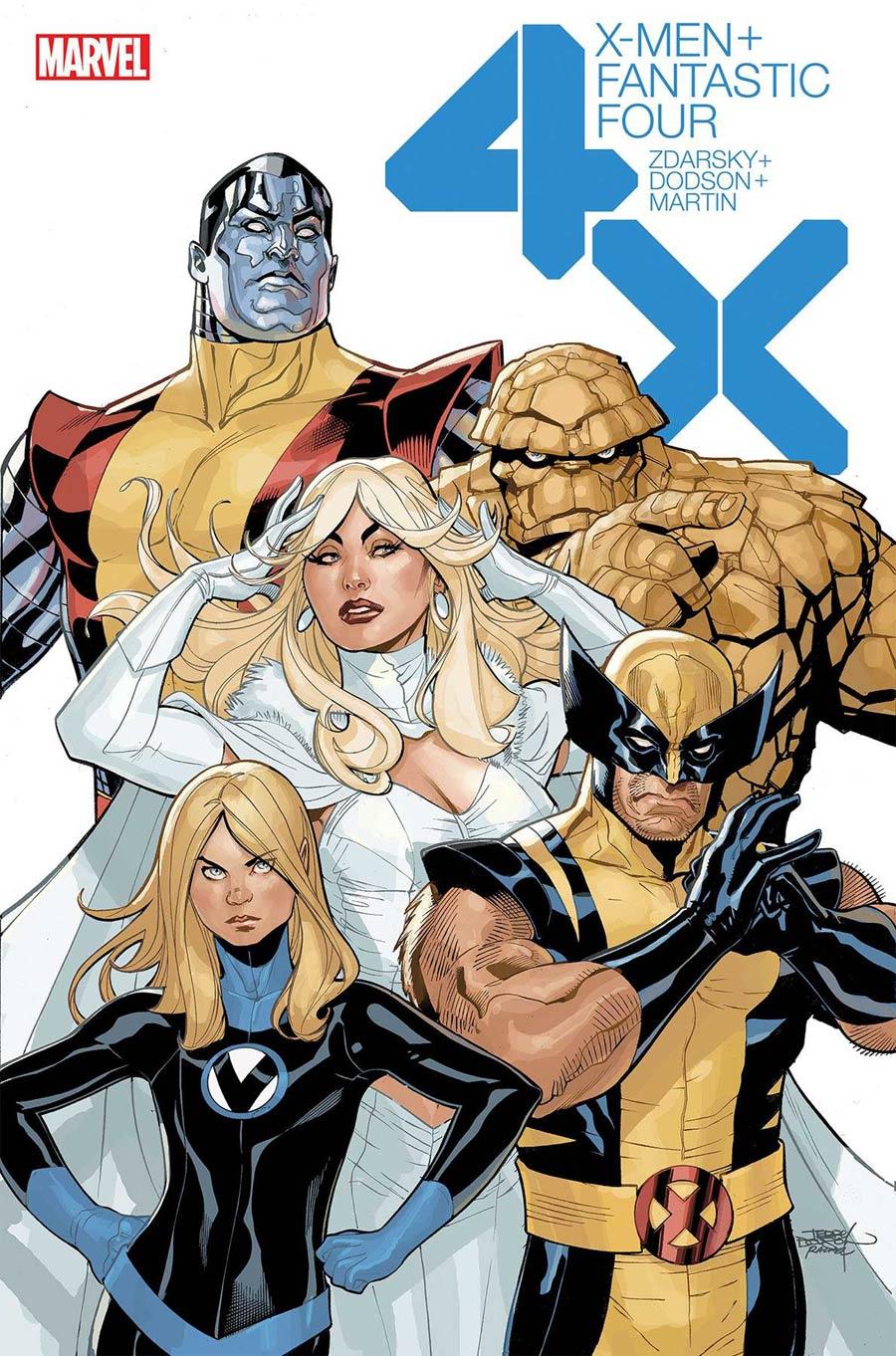 X-Men Fantastic Four Vol 2 #2 Cover A Regular Terry Dodson Cover