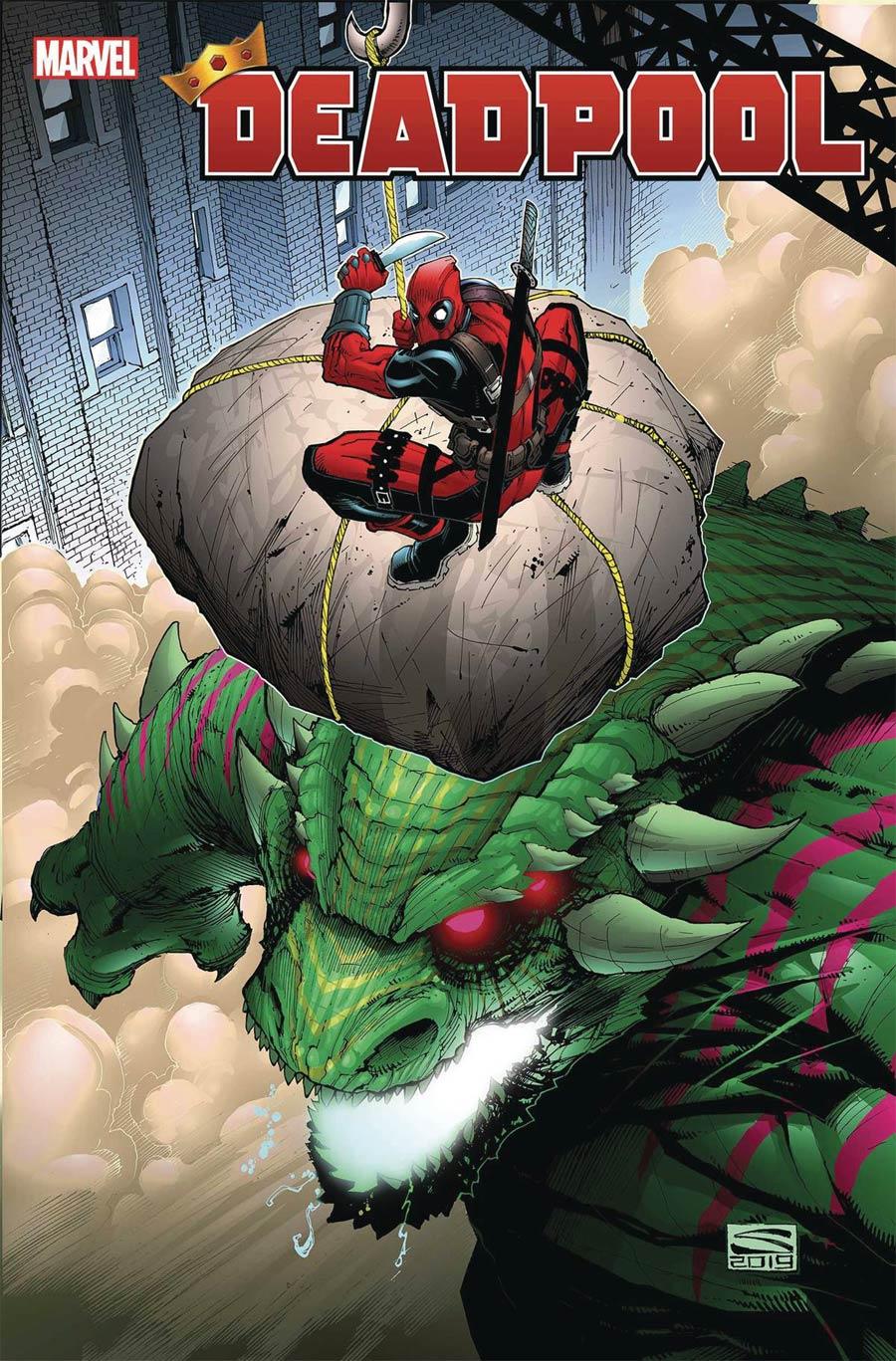 Deadpool Vol 7 #5 Cover A Regular Gerardo Sandoval Cover