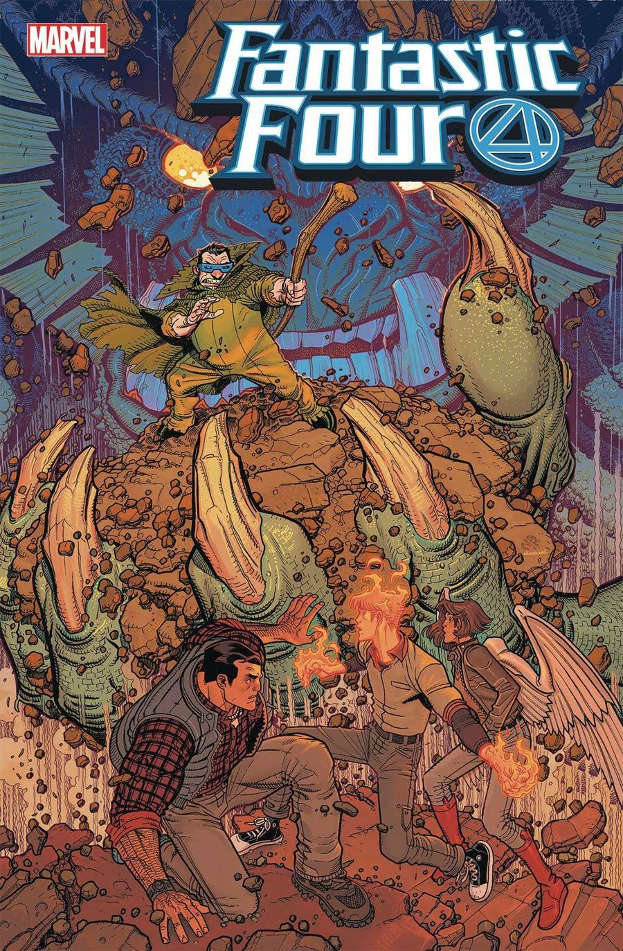 Fantastic Four Vol 6 #20 Cover A Regular Nick Bradshaw Cover