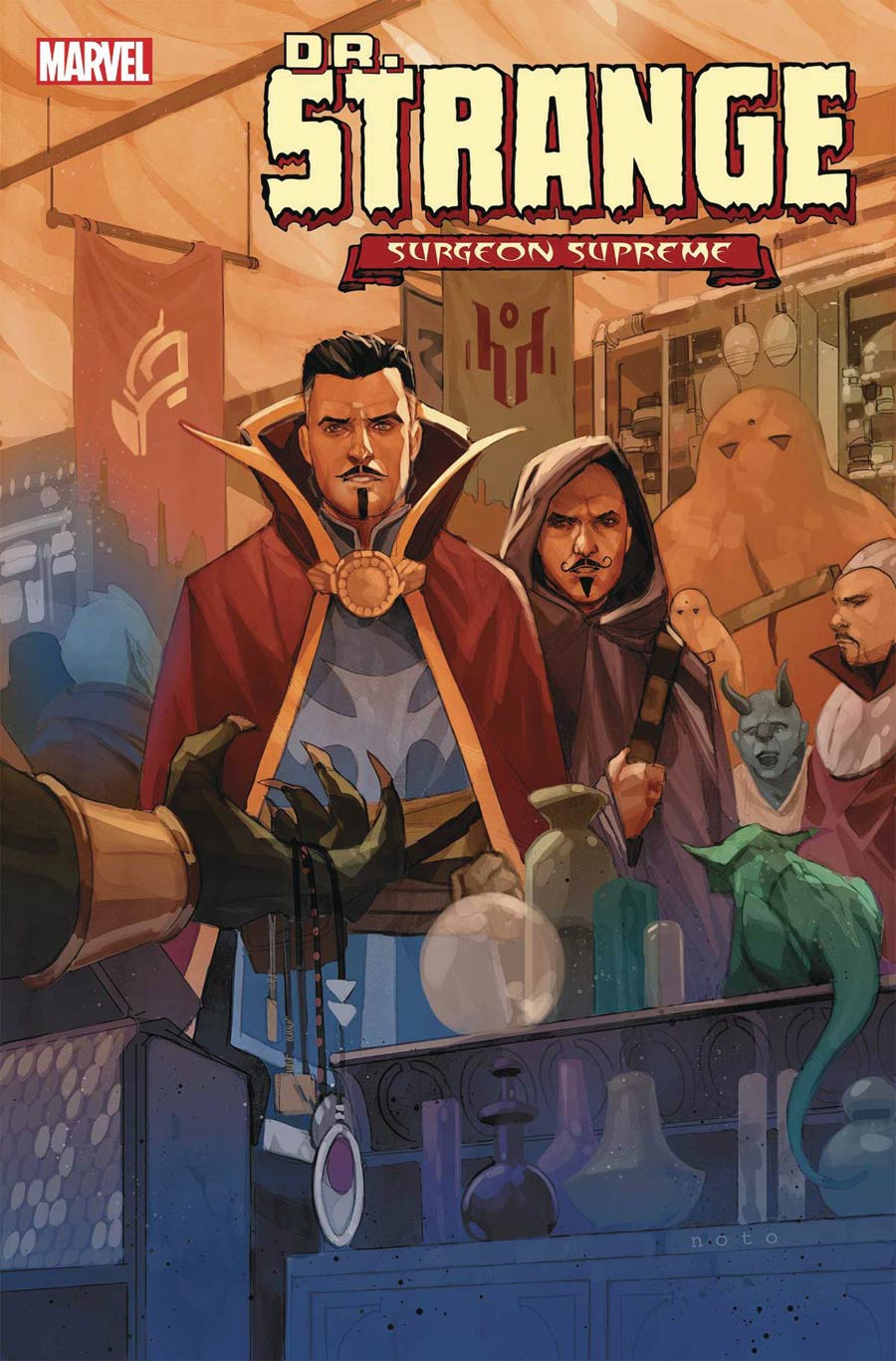 Doctor Strange Surgeon Supreme #5 Cover A Regular Phil Noto Cover