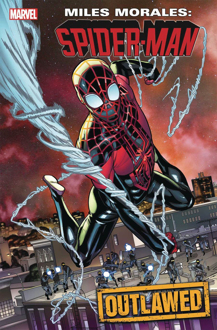Miles Morales Spider-Man #17 Cover A Regular Javier Garron Cover (Outlawed Tie-In)