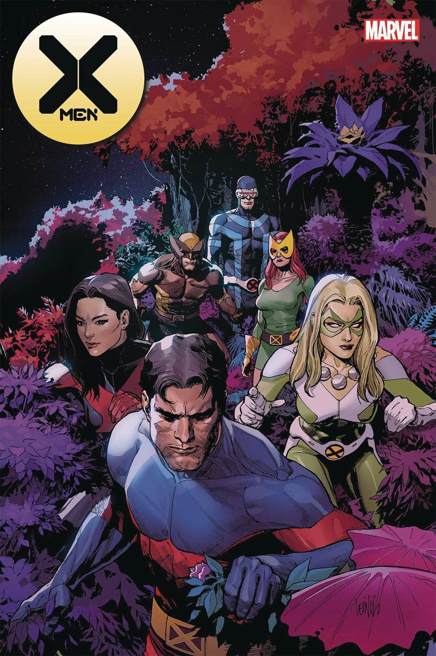 X-Men Vol 5 #10 Cover A Regular Leinil Francis Yu Cover (Empyre Tie-In)