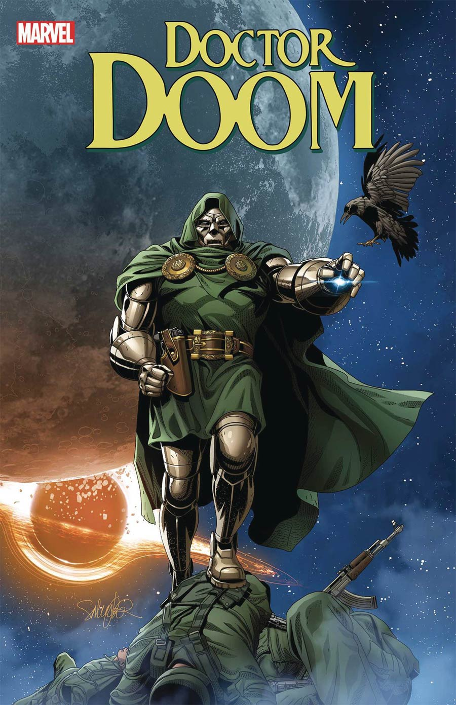 Doctor Doom #7 Cover A Regular Salvador Larroca Cover