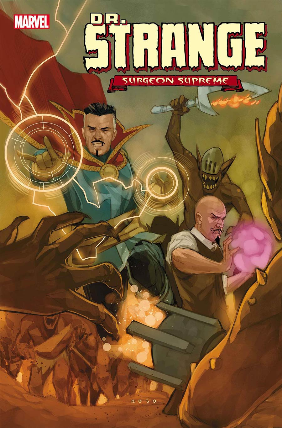 Doctor Strange Surgeon Supreme #6 Cover A Regular Phil Noto Cover