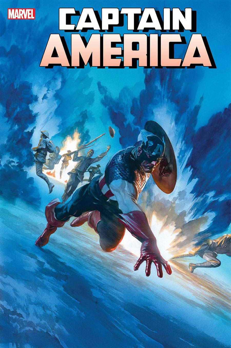 Captain America Vol 9 #22 Cover A Regular Alex Ross Cover