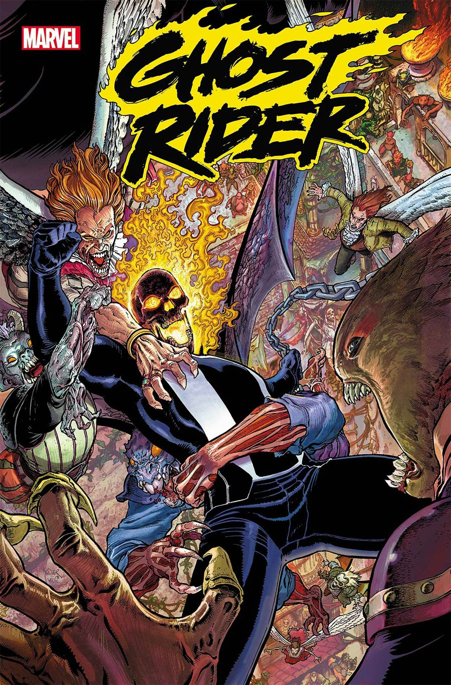 Ghost Rider Vol 8 #8 Cover A Regular Aaron Kuder Cover
