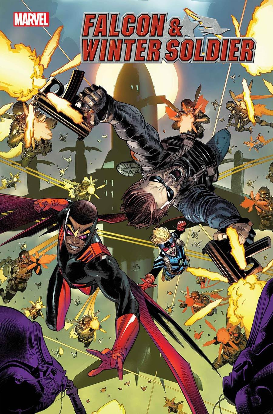Falcon & Winter Soldier #4 Cover A Regular Dan Mora Cover
