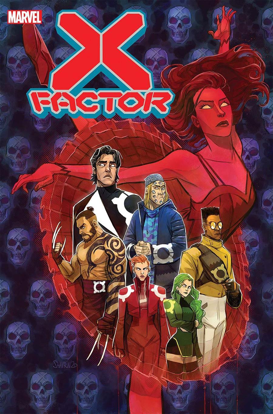 X-Factor Vol 4 #2 Cover A Regular Ivan Shavrin Cover