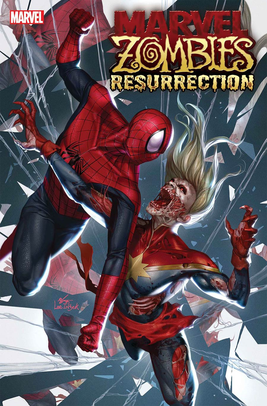 Marvel Zombies Resurrection #4 Cover A Regular Inhyuk Lee Cover