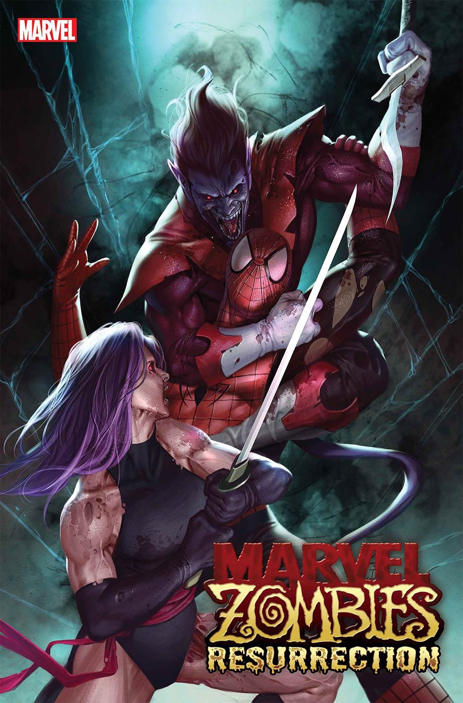 Marvel Zombies Resurrection #2 Cover A Regular Inhyuk Lee Cover