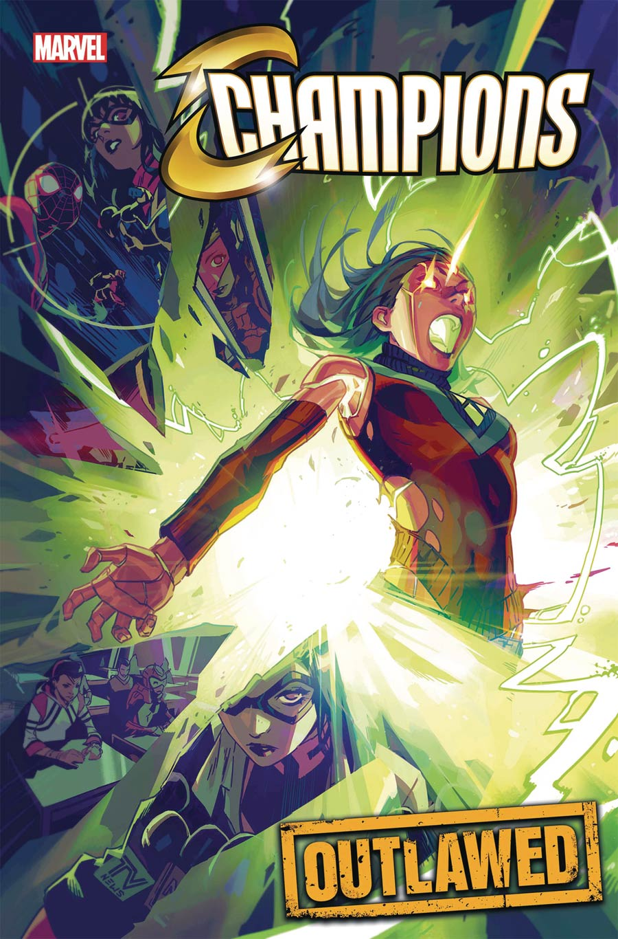 Champions (Marvel) Vol 4 #3 Cover A Regular Toni Infante Cover (Outlawed Tie-In)