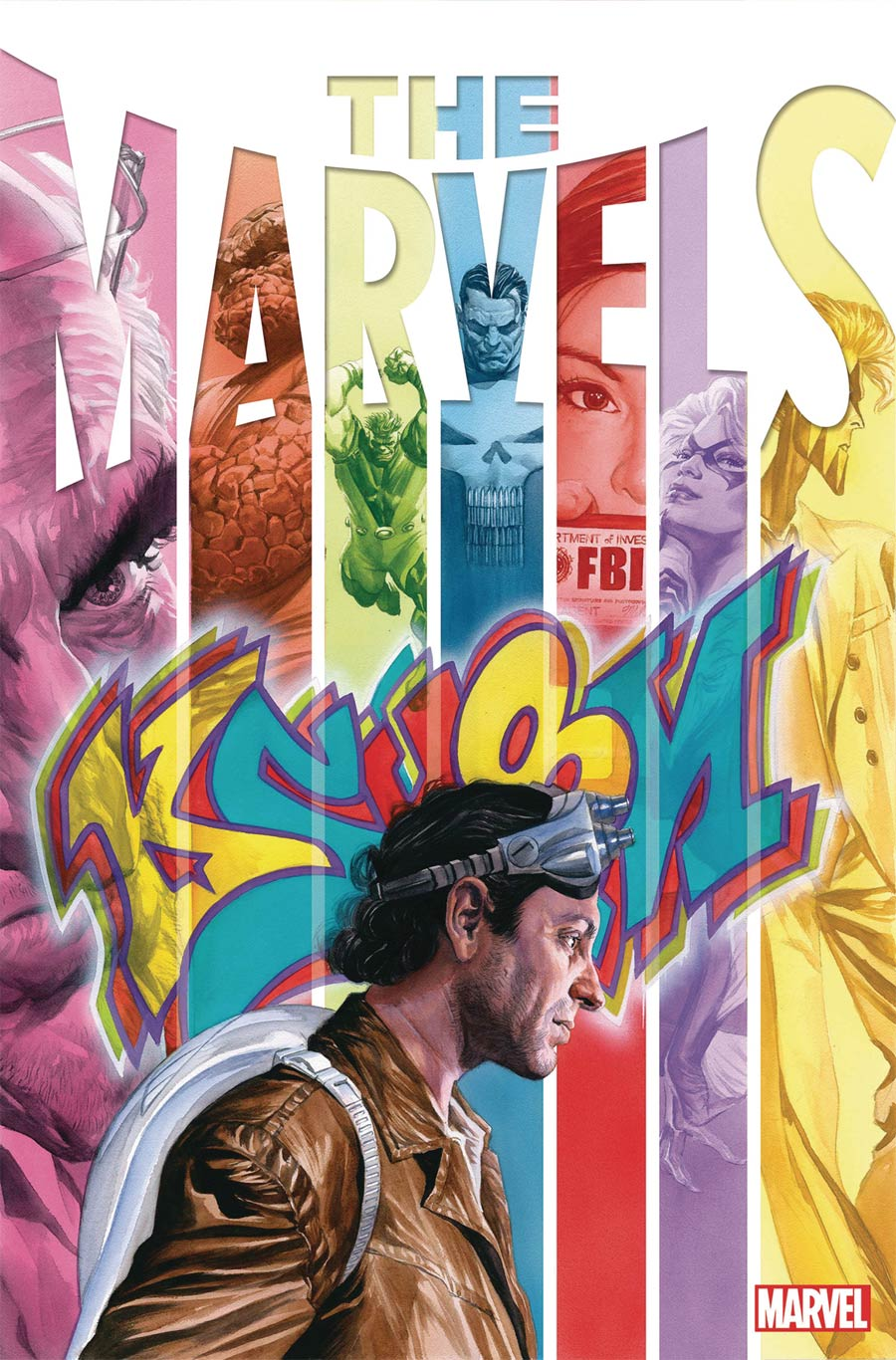 The Marvels #2 Cover A Regular Alex Ross Cover