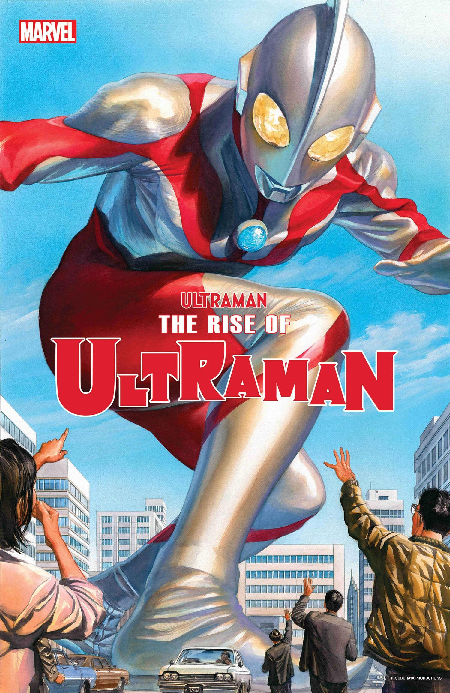 Ultraman Rise Of Ultraman #1 Cover A Regular Alex Ross Cover