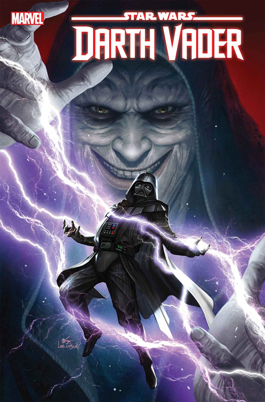 Star Wars Darth Vader #6 Cover A Regular Inhyuk Lee Cover