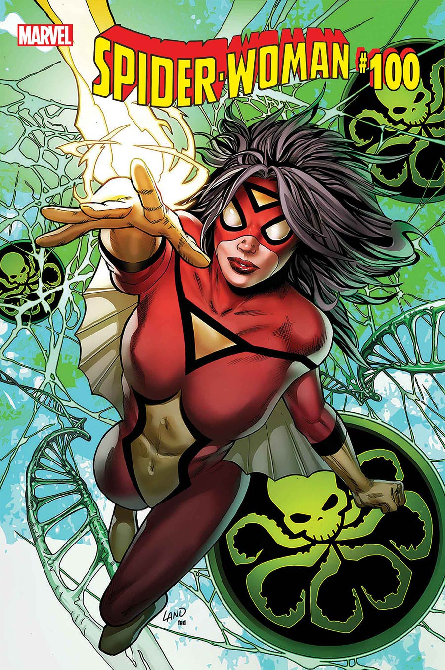 Spider-Woman Vol 7 #5 Cover A Regular Greg Land Cover (#100)