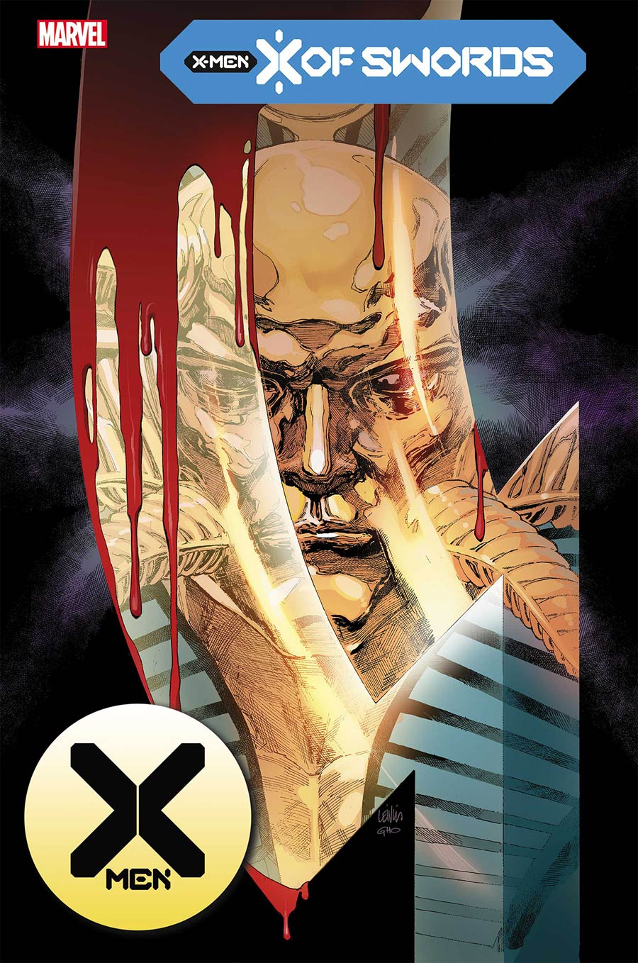 X-Men Vol 5 #15 Cover A Regular Leinil Francis Yu Cover (X Of Swords Part 20)