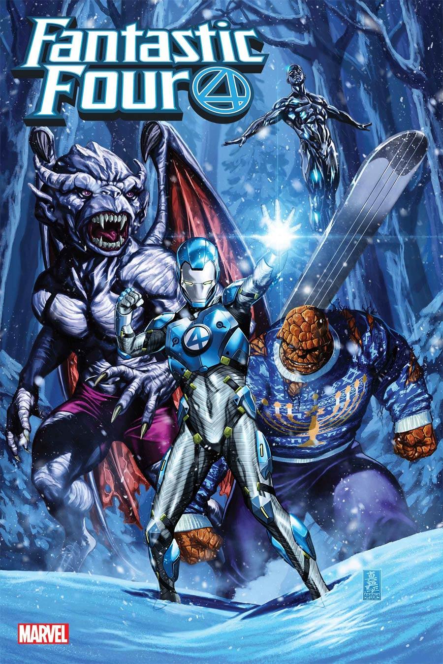 Fantastic Four Vol 6 #27 Cover A Regular Mark Brooks Cover