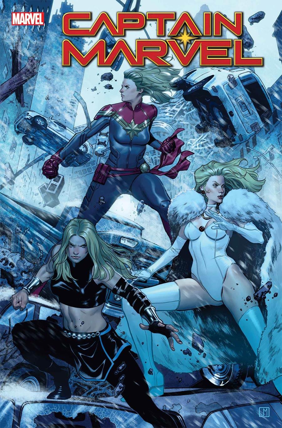 Captain Marvel Vol 9 #24 Cover A Regular Jorge Molina Cover