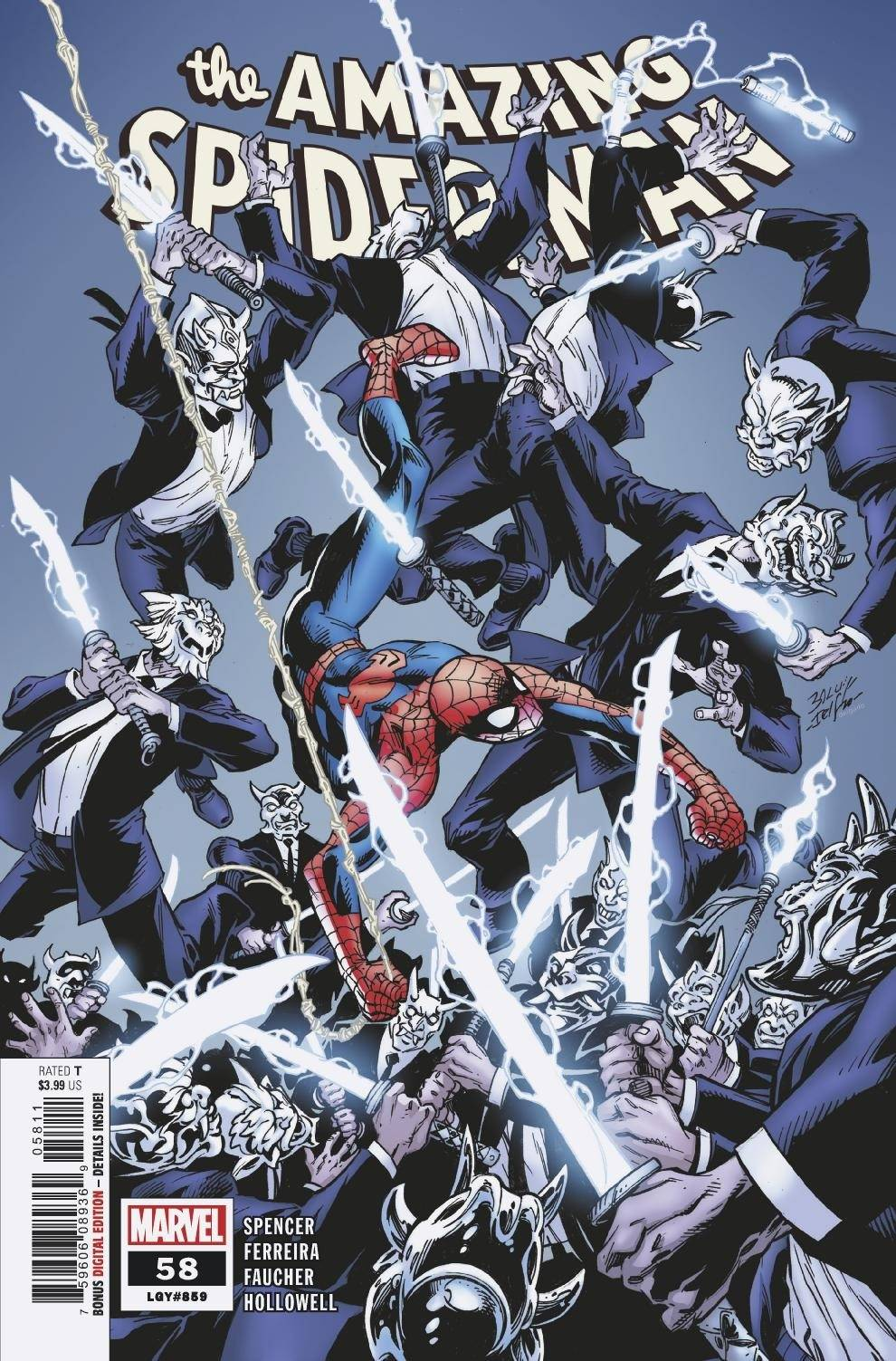 Amazing Spider-Man Vol 5 #58 Cover A Regular Mark Bagley Cover
