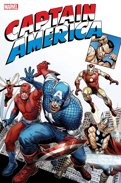 Captain America Anniversary Tribute One Shot Cover A Regular Steve McNiven Cover