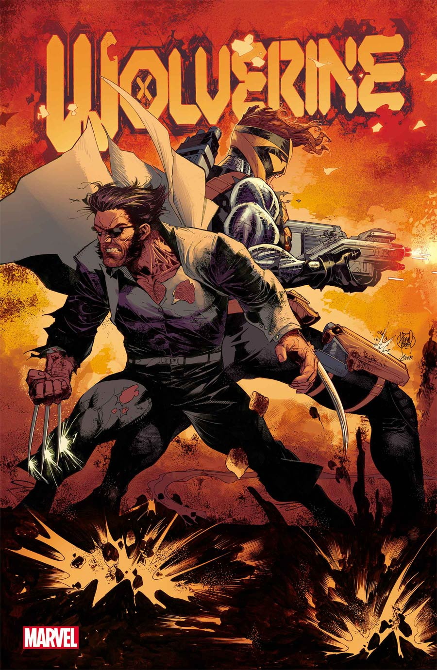 Wolverine Vol 7 #10 Cover A Regular Adam Kubert Cover