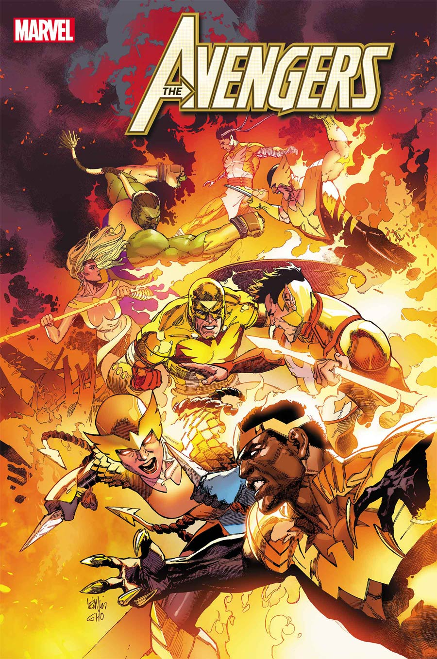 Avengers Vol 7 #42 Cover A Regular Leinil Francis Yu Cover