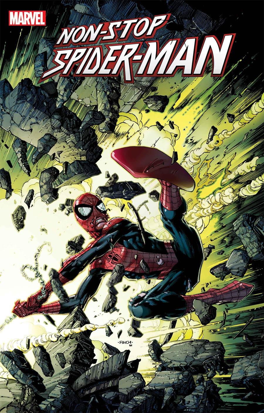 Non-Stop Spider-Man #2 Cover A Regular David Finch Cover