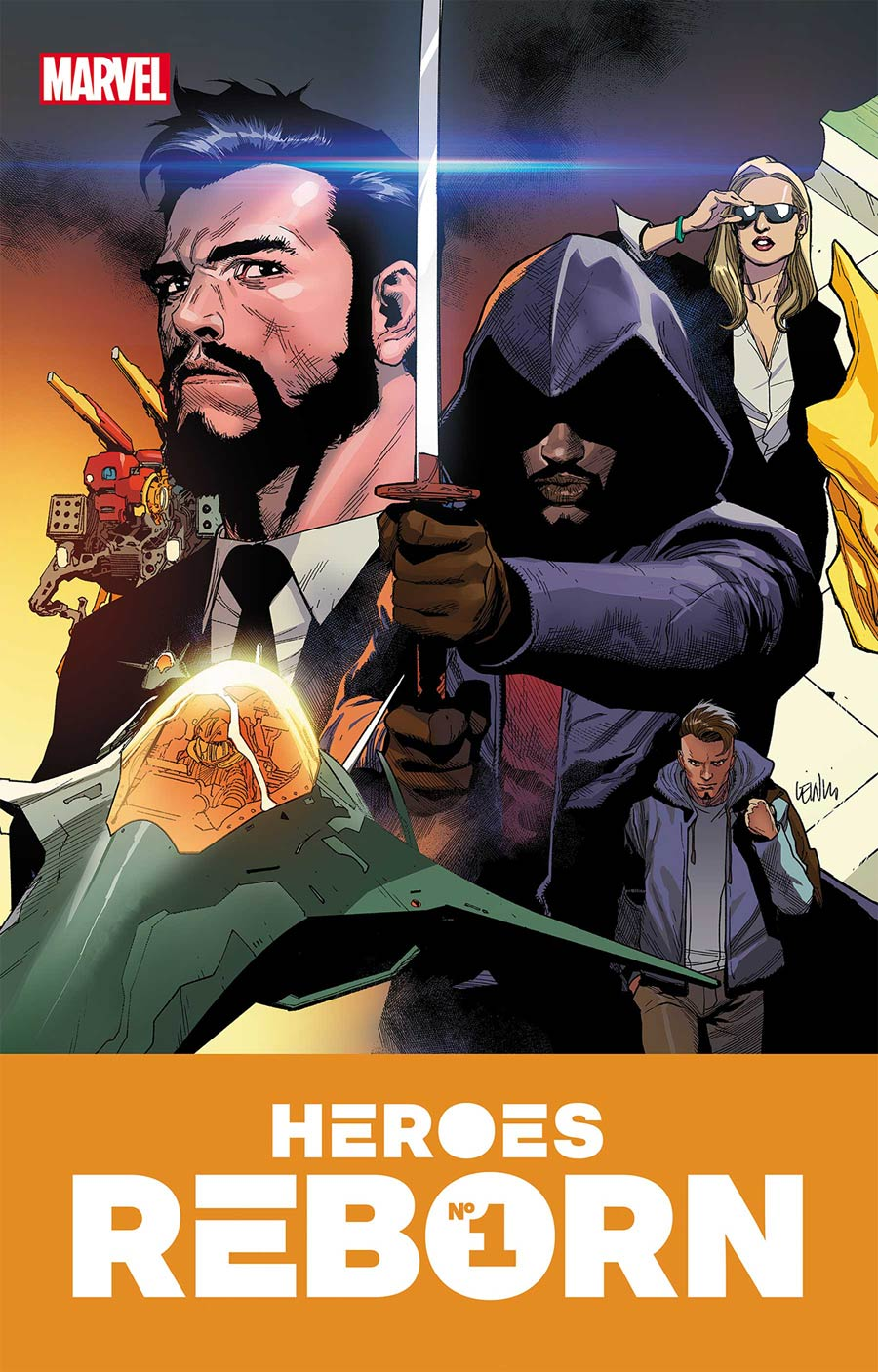Heroes Reborn #1 Cover A Regular Leinil Francis Yu Cover