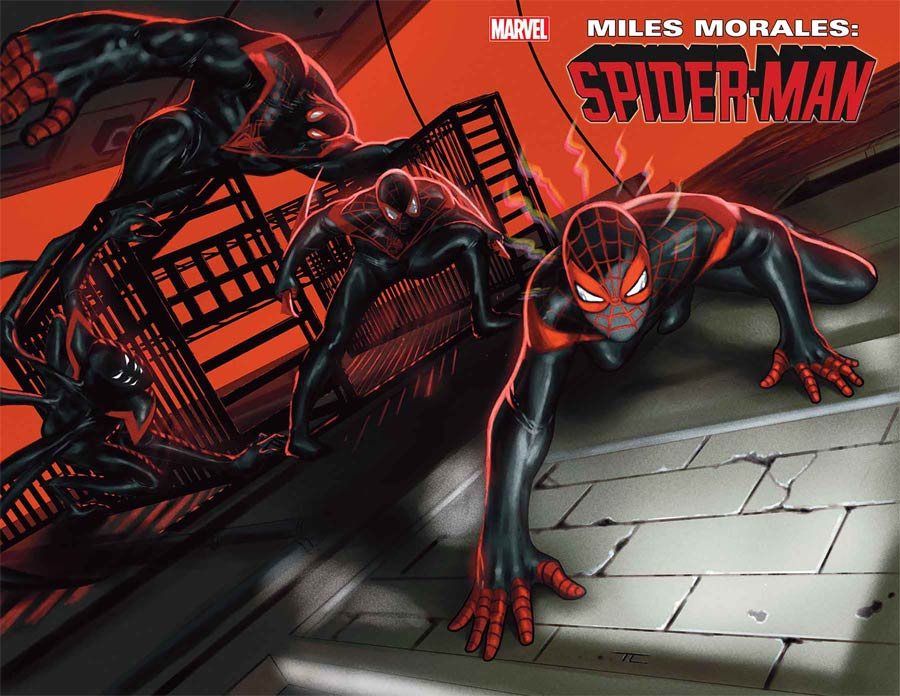 Miles Morales Spider-Man #25 Cover A Regular Taurin Clarke Wraparound Cover