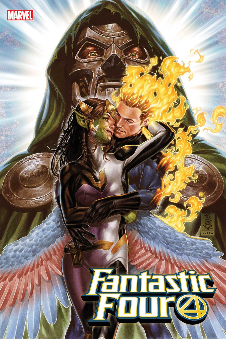 Fantastic Four Vol 6 #32 Cover A Regular Mark Brooks Cover