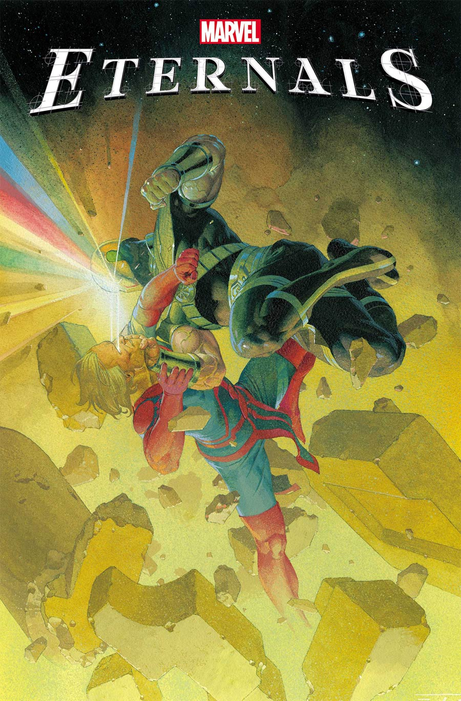 Eternals Vol 5 #5 Cover A Regular Esad Ribic Cover