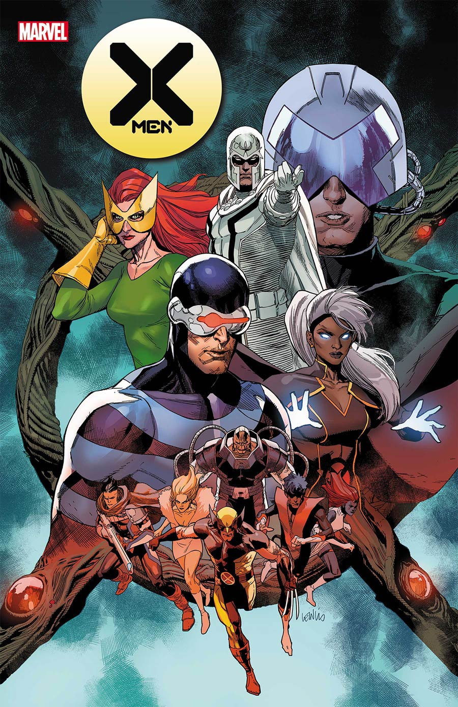 X-Men Vol 5 #21 Cover A Regular Leinil Francis Yu Cover (Hellfire Gala Tie-In)