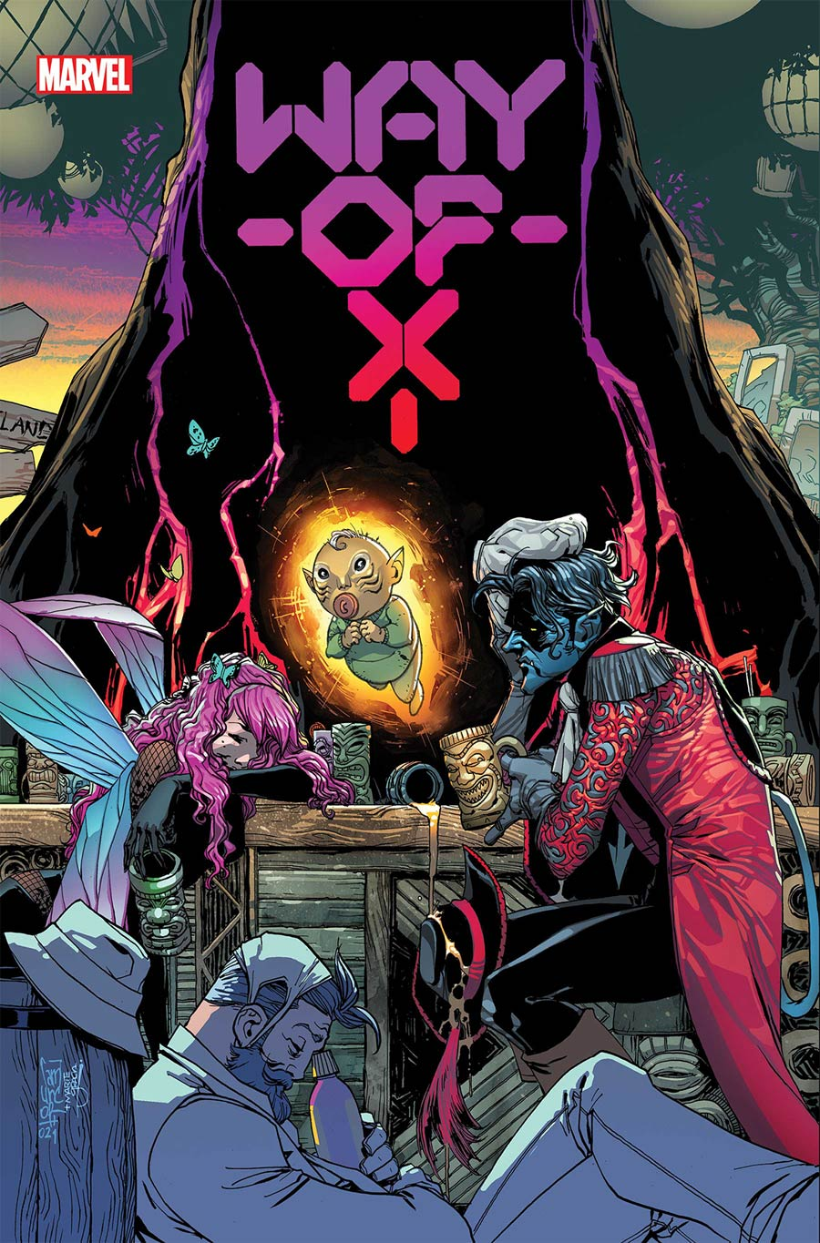 Way Of X #3 Cover A Regular Giuseppe Camuncoli Cover (Hellfire Gala Tie-In)